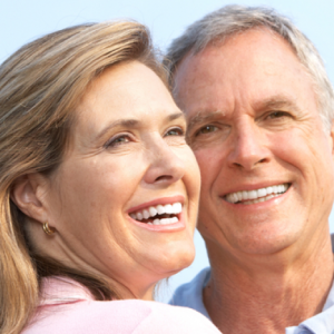 botox athens ga, older couple with reduced wrinkles